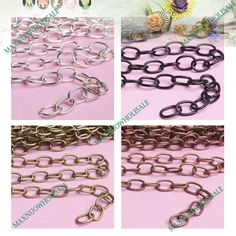 Wholesale Iron Cable Chain Unfinished Cheaper Jewelry Craft Findings Pick | eBay