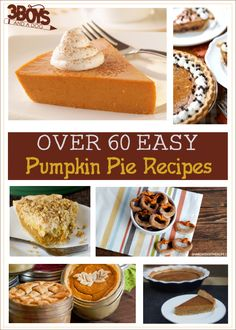Traditional Pumpkin Pie Recipes with a twist