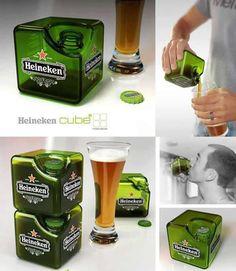 WOW! Heineken Cube