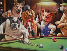 Hustler Cassius Marcellus Coolidge high quality by paintingmania Dogs Playing Poker, Game Room Decor, Oil Painting Reproductions, Canvas Pictures, Oil Painting On Canvas, Dog Art, Your Dog, Hand Painted, Decoupage