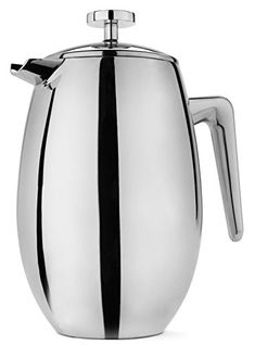 FP Coffee Makers™ French Press w/ Insulated Stainless Steel Carafe - Commute Coffee French Coffee, French Press Coffee Maker, Wine Decanter Set, Carafe, Coffee Shop, Coffee Cups, Electric Coffee Maker, Stainless Steel French Press, Electric Wine Opener