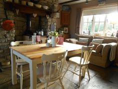 Cosy kitchen I'd love to have..