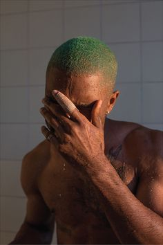 "frankiethebaron: "" Love Frank Ocean's album cover by Wolfgang Tillmans https://artwise.live/2016/05/06/in-praise-of-wolfgang-tillmans/ """