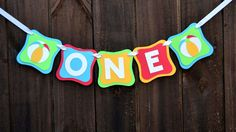 ONE Beach Ball banner, High Chair Banner,Happy Birthday banner First Birthday, Baby Photo Prop, Birthday Party, Smash Cake Banner Pool Party by CelebrateCustomEvent on Etsy