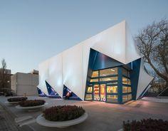 Grote 3D-prints voor gevel Europa Gebouw - architectenweb.nl
