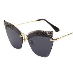 Dressuup New Round Sunglasses Women Brand Designer Shiny Stitching Frame Gradient Lens Uv400 Sun Glasses Men Oculos De Sol Easy To Use Apparel Accessories