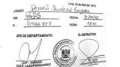 El diario Perú.21 revela hoy que la citación a su editora de Economía es falsa. La Policía declaró a Gina Sandoval Cervantes como persona 'no habida' por no haber acudido a un supuesto requerimiento tras recibir ese documento.