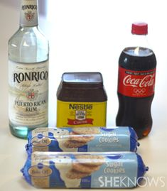 Rum and Coke cookies excuse me, What?! Can I do this with Jack and Coke too?!?