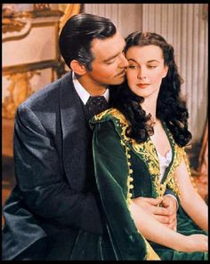 Scarlet & Rhett ~ Gone With The Wind.