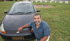 Murrumu Walubara Yidindji gave up Australian money, his citizenship, and now he drives under Yidinji tribal law. For the authorities, it's a novel situation