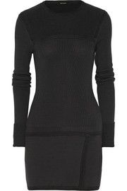 Isabel Marant Bingham paneled wool-blend mini dress
