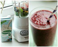Smoothie of the Day - Tropical-Mango- Blueberry | SASIBELLA