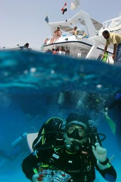 Red Sea - Egypt - Hurghada. This photo was taken at the depth of approximately 1 meter. www.vantage-travels.com