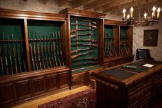 Cauthens and sons gun room. My favorite place to go :)