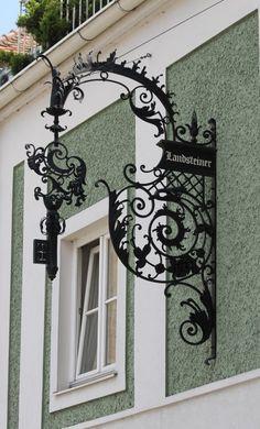 #Landsteiner #sankt_pölten Vienna Woods, Street Signs, Shop Signs, Arabic Calligraphy, Europe, Home Decor, Homemade Home Decor, Arabic Calligraphy Art, Decoration Home