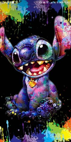 Obviously colorful stitch Stitch manifiquement coloré Obviously colorful s … – funny wallpapers backgrounds Disney Phone Wallpaper, Cartoon Wallpaper Iphone, Cute Wallpaper Backgrounds, Cute Cartoon Wallpapers, Wallpaper Quotes, Wallpaper Awesome, Lock Screen Backgrounds, Drawing Wallpaper, Pink Wallpaper