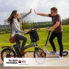 Bicicleta, trotineta sau triciclu electric? Pe oricare dintre acestea ți-o dorești o poți achiziționa, de acum, în rate, de oriunde din tara, prin #CreditBRDFinance. Hai și tu cu noi la o plimbare! Pentru mai multe detalii te așteptăm în magazin sau ne poti suna direct la numarul 0742.533.608. Mai, Vehicles, Car, Vehicle, Tools