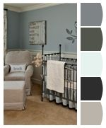 Color pallet Grey and Blue
