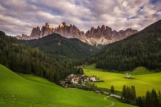 St. Maddalena, Dolomites