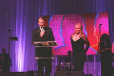 BioMotion Institute Founder and Chief Medical Officer Dr. W. Andrew Hodge and  Gala Chairwoman Gale Brophy