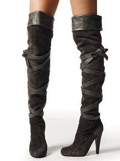 62ef48d8c00 Victorias Secret Colin Stuart Over The Knee OTK suede boots size 9 NIB Sexy