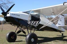 Vintage Aircraft Just Aircraft Highlander. Take off on a dime and get nine cents change. Stol Aircraft, Kit Planes, Vintage Design, Vintage Ideas, Vintage Stuff, Vintage Cars, Light Sport Aircraft, Bush Pilot, Bush Plane