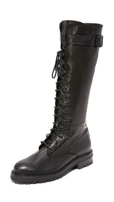 FRYE Women's Julie Lace Tall Combat Boot >>> Check out the image by visiting the link. (This is an affiliate link) Frye Boots, Combat Boots, Tough Girl, Thick Socks, Knee High Boots, Calves, Lace Up, My Style, Burning Man
