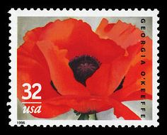 3069 MNH 1966 Georgia O& modern art flower artist Alfred Stieglitz Georgia O Keeffe, Alfred Stieglitz, Commemorative Stamps, Gordon Parks, Flower Artists, Postage Stamp Art, Love Stamps, Red Poppies, Stamp Collecting
