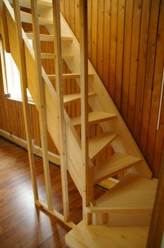 Spiral stairs storage interior design Ideas for 2019 Garage Stairs, Tiny House Stairs, Loft Stairs, Rustic Stairs, Wooden Stairs, Shed Interior, Interior Stairs, Interior Design, Stair Storage