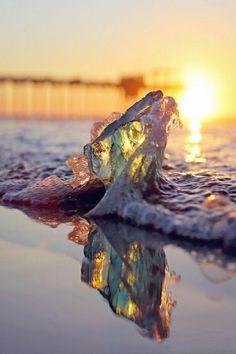 cooles Foto von Welle