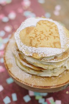 Apple of My Eye Pancakes with Pink Lady Brown Sugar Sauce #Recipe {perfect for Valentine's Day}