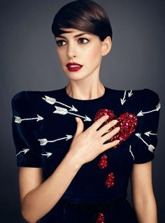 Harper's Bazaar US November 2014, Anne Hathaway