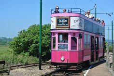 Seaton Tramway runs 3 miles inland from Seaton to Colyton.