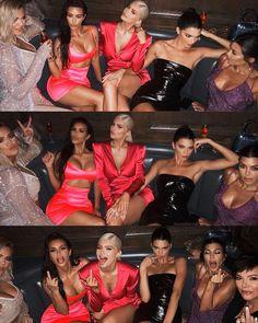 When Kardashian's and Jenner's meet😍♥ Kourtney Kardashian, Estilo Kardashian, Kardashian Family, Kardashian Jenner, Badass Aesthetic, Bad Girl Aesthetic, Estilo Jenner, Looks Kylie Jenner, Kendall And Kylie Jenner