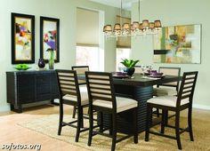 Sala de jantar decorada 27