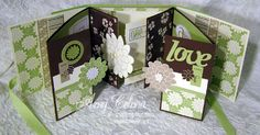 For today's template Thursday, I thought I'd share with you this awesome flip book that Amy Celona, my supremely talented web designer made.This flip book is made using 1/2 of a Stampin'Up! Simply Scrappin' Kit. Although the kit she usedis retired, Stampin' Up! has come out with all sorts of gorgeous new Simply Scrappin' Kits …
