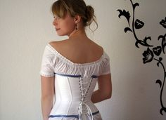 Chemise and corset pattern - maybe one day I'll get around to making them!