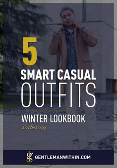 If you're looking for smart casual outfits for men, then this article is for you. It breaks down the smart casual dress code & has winter style inspiration. Smart Casual Outfit, Smart Casual Men, Casual Winter Outfits, Casual Wear, Cute Outfits With Jeans, Cute Jeans, Jean Outfits, Casual Dresscode, Gentleman