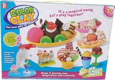 Flipkart  Buy Lotus Color Clay Ice Cream Party at Rs 699 only