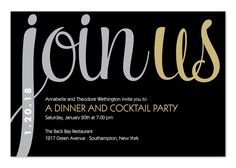 Join Us - Corporate Invitations by Invitation Consultants. (IC-RLP-1553 )
