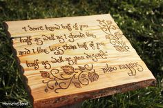 Bilbo Baggins Quote Hobbit Saying Wall Hanging The Hobbit Fan Gift Lord of the Rings Sign Plaque Rustic Wood Burned LOTR