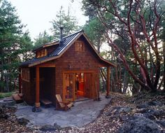 Cabin on the East Sound of Orcas Island