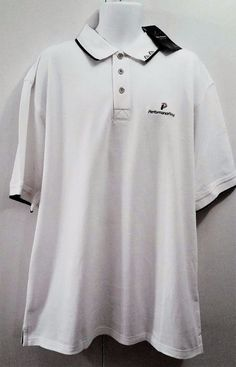 0f6c0db2 Collectible Greg Norman Polo Golf Shirt Made for Performance Retail Inc 2XL  NWT #GregNormanCollection #