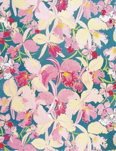 Raoul Dufy textile design, who would have known?