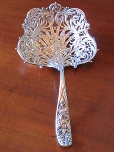 Antique Sterling Whiting Pierced Server