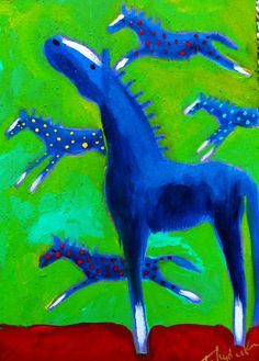 acrylics folk art - Google Search