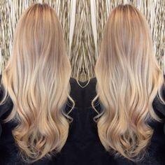 BEFORE & AFTER: Beautiful Beige Summer Blonde   Modern Salon