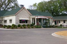 The Loveless Cafe, just west of Nashville, TN. Home cooking, great biscuits and you may see your favorite country music star!