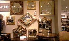 Mirrors now available at Mathis Brothers Furniture in Tulsa, OK. Please ask for Dessie at the reception desk. Brothers Furniture, Maitland Smith, Home Furnishings, Mirrors, Reception, Desk, Traditional, Elegant, Luxury