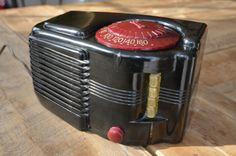 Sonora WAU 243 Radio Super Deco Bakelite Push Buttons Very Nice No Res | eBay